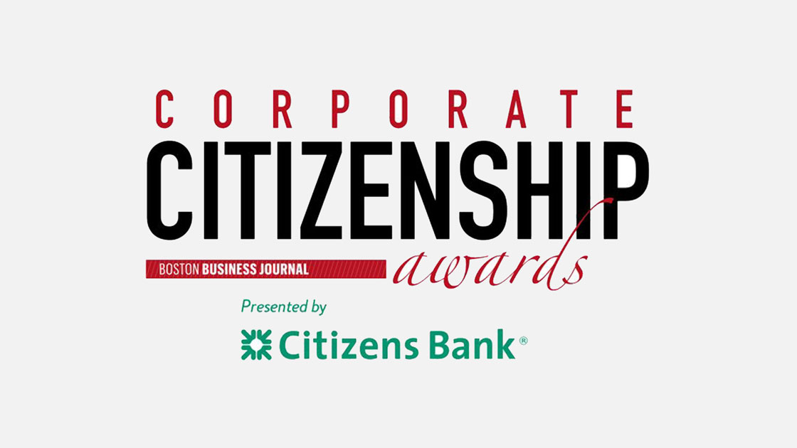 Corporate Citizenship Awards logo to show Sentinel's presence on the list of most charitable companies in Massachusetts