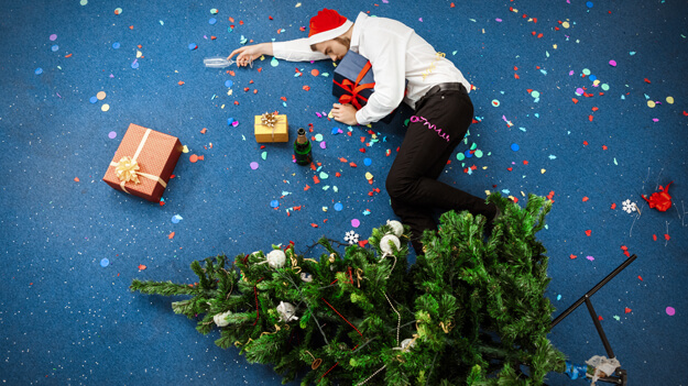 Workplace Holiday Party in an HR trends and employee benefits blog