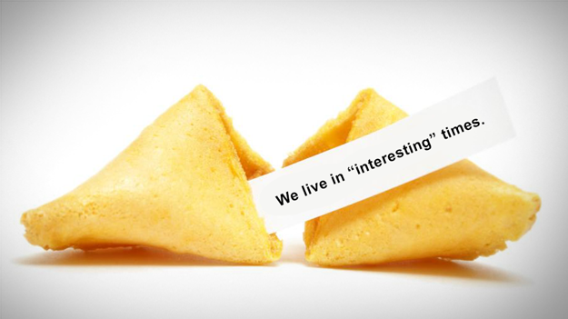 Picture of fortune cookie cracked open to illustrate some recent HR issues in the HR trends blog