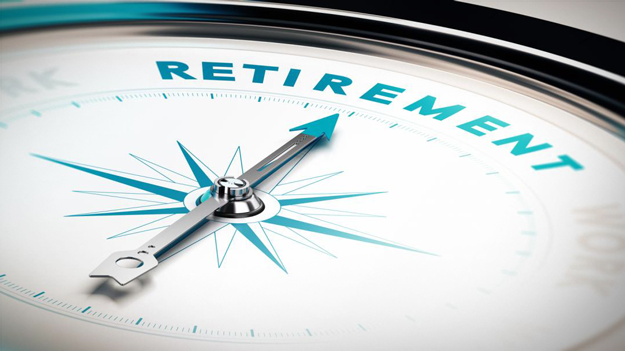Picture of compass with word 'retirement' at top to illustrate the importance of retirement planning in the HR trends blog