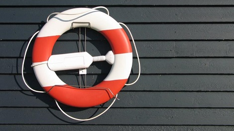 Life Saver showing the importance to life insurance as a financal resource