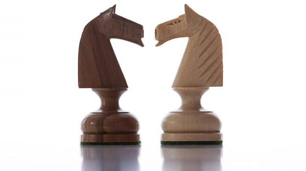 Chess pieces illustrating the importance of choosing the right financial advisor to manage your financial resources